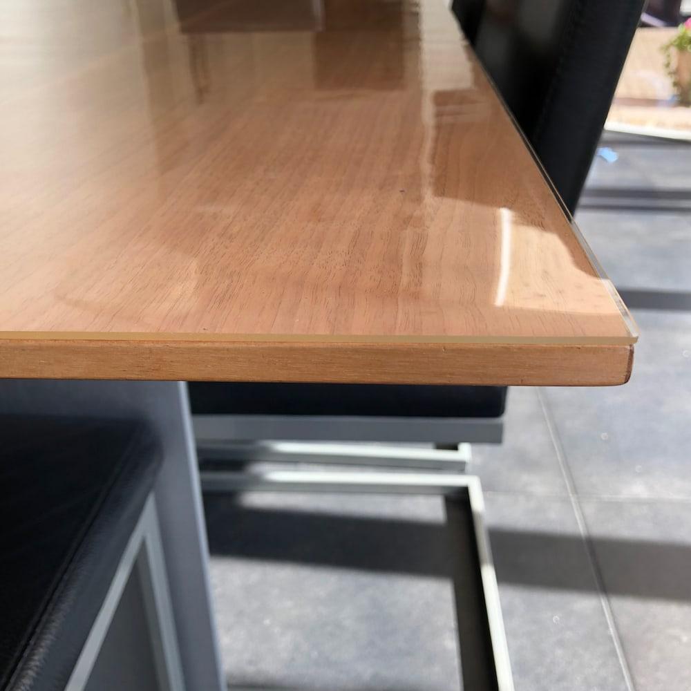 Durchsichtige PVC Tischdecke Transparent nach Maß 2mm