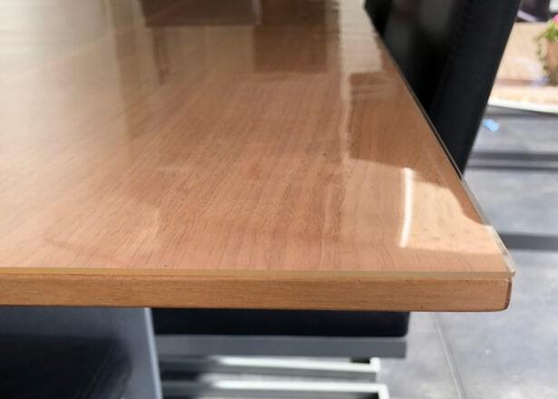Durchsichtige PVC Tischdecke Transparent nach Maß