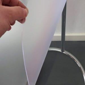 Durchsichtige Tischdecke Matt Transparent