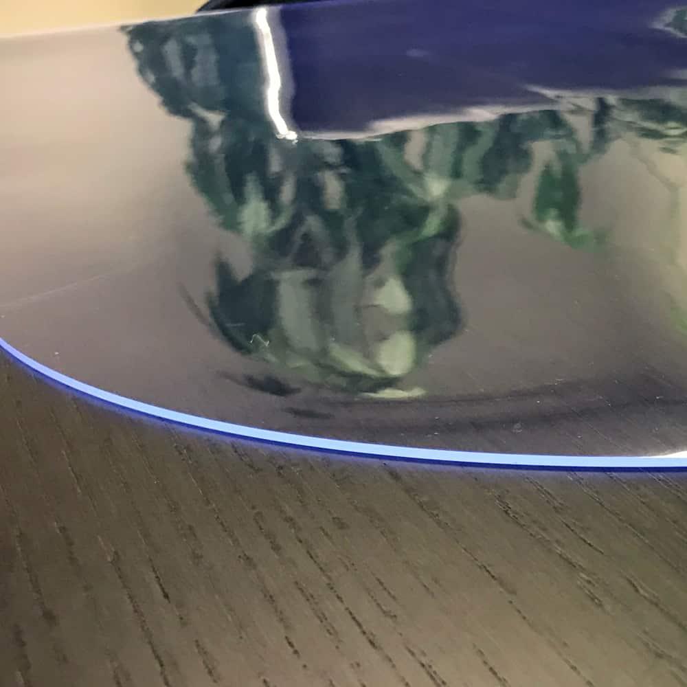 durchsichtige tischdecke oval transparent nach ma. Black Bedroom Furniture Sets. Home Design Ideas