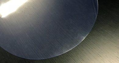Durchsichtige Tischdecke Oval Transparent