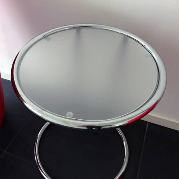 Durchsichtige Tischdecke Rund Matt Transparent