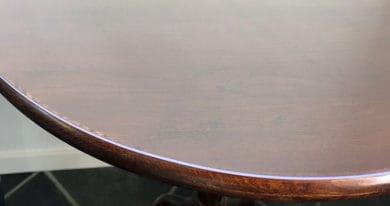 Durchsichtige Tischdecke Rund Transparent