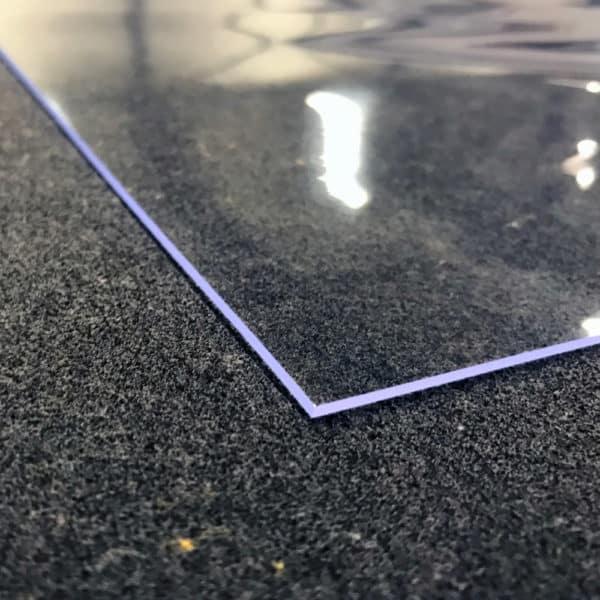 Durchsichtige Tischdecke Transparent Spitzen Ecken
