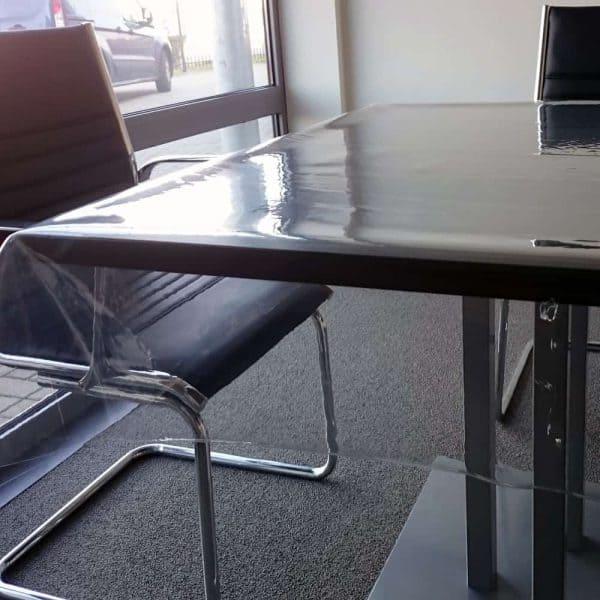 Durchsichtige Transparente PVC Tischdecke 05 mm dick