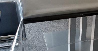 Durchsichtige Transparente PVC-Tischdecke 0,5 mm hauchdünn