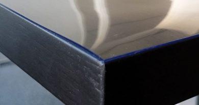 Durchsichtige Transparente PVC Tischdecke 1 mm Dünn