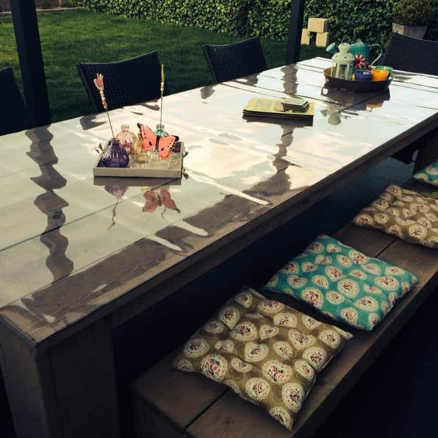 Durchsichtige Tischdecke nach Maß